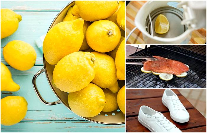 Невероятные способы использования лимона в хозяйстве.