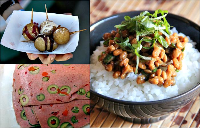 Странные блюда разных стран мира.