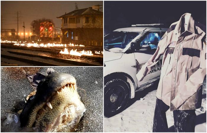 Снимки зимней Америки, от которых просто веет холодом.