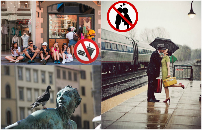 Дурацкие запреты популярных туристических направлений, о которых должны знать туристы.