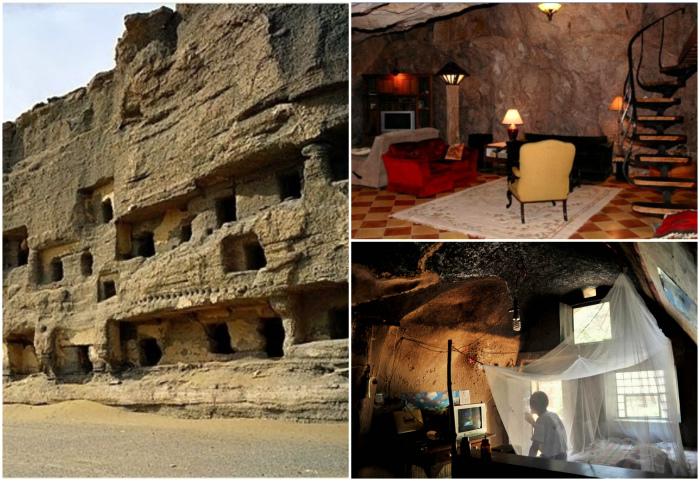 Жители пещер Китая.