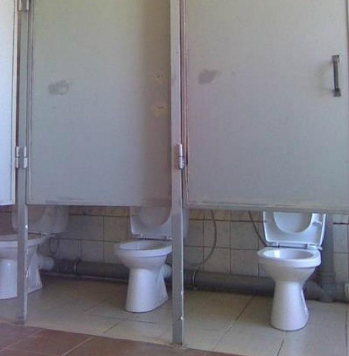 Приватность в туалете.
