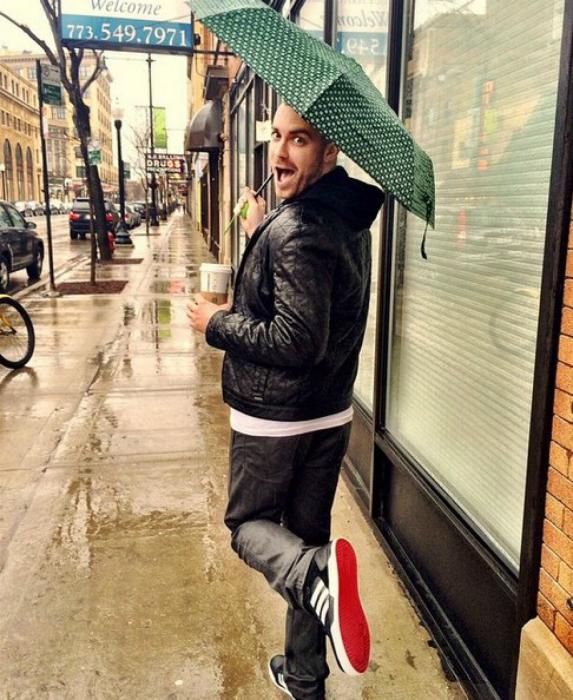 Прогулка под дождем.