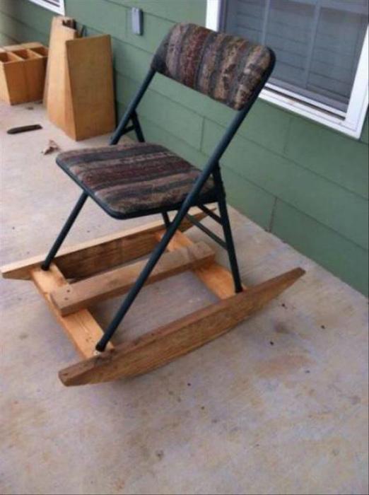 Кресло-качалка.