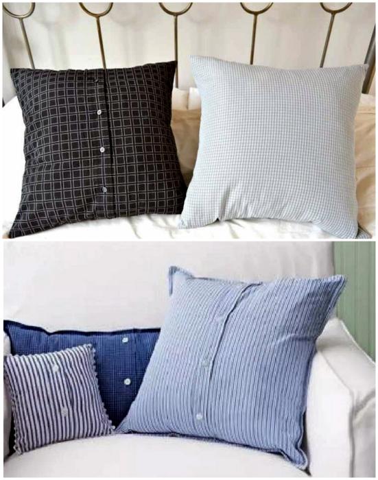 Наволочки для диванных подушек.