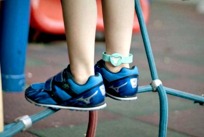 Детский браслет безопасности Beluvv Guardian.