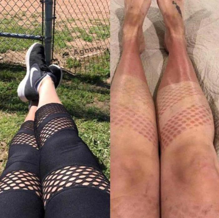 Красивейшие узоры на ногах. | Фото: Zaya.Su.