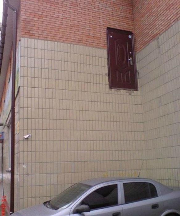 Экстремальная дверь.