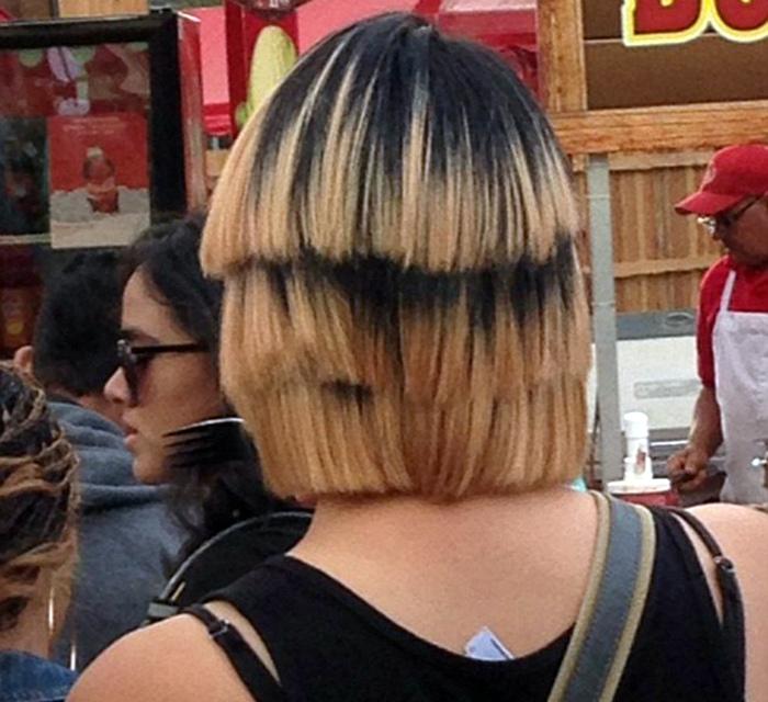 Когда попадаешь в руки парикмахера-маньяка.