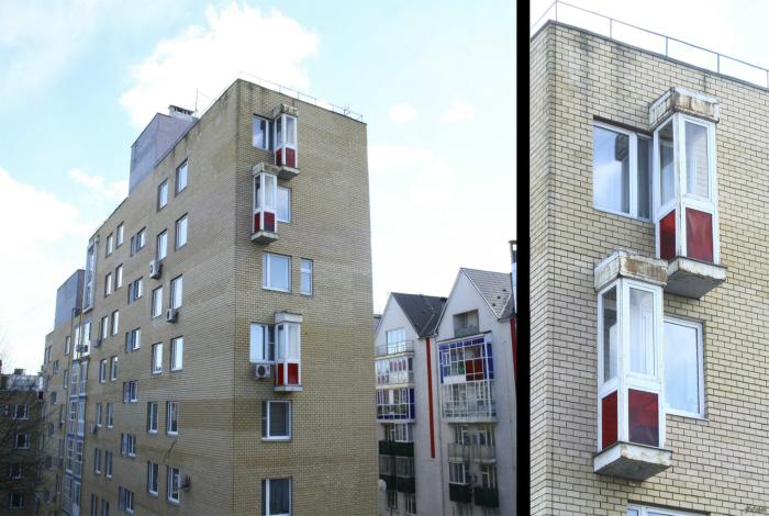 Это даже не балконы, это будки для курения.