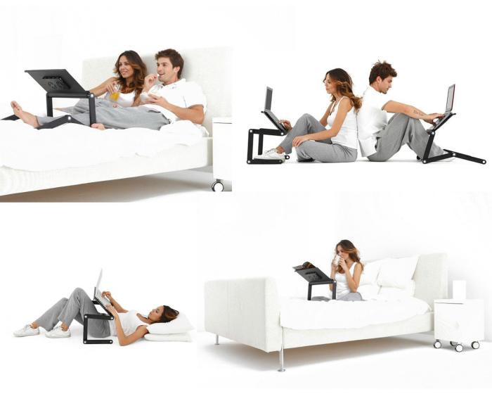 Функциональная подставка для ноутбука для удобного пользования в любом положении.