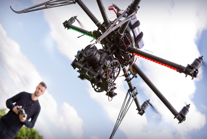 Оператор дрона.