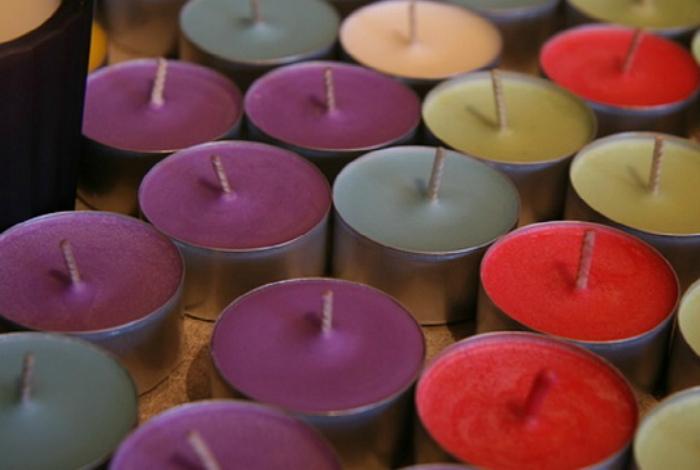 Ароматические свечи в авто.