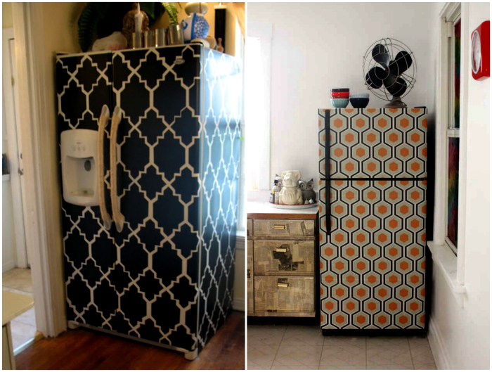 Декор холодильника.