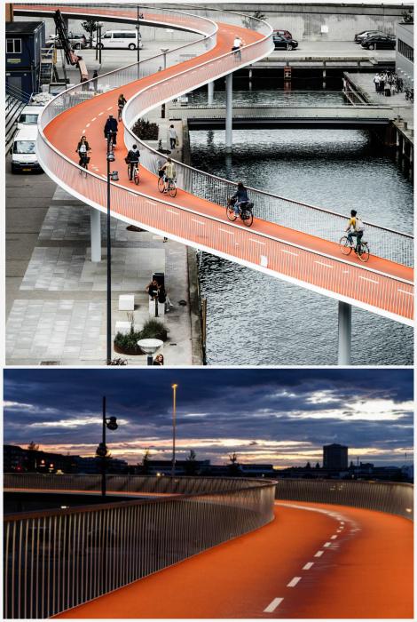 Велосипедный мост. | Фото: competitionline.