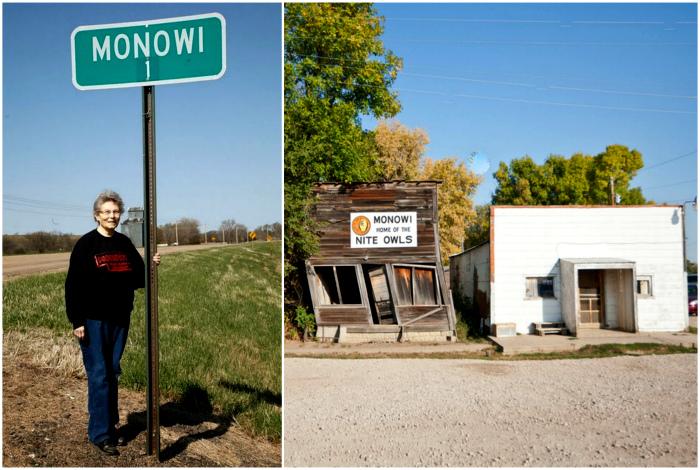 Монови - деревня из одного человека.