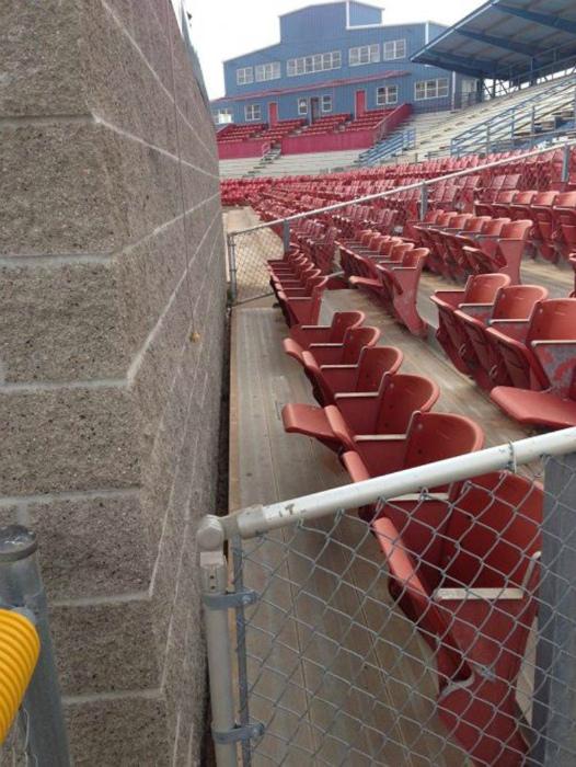 Лучший сектор на стадионе.