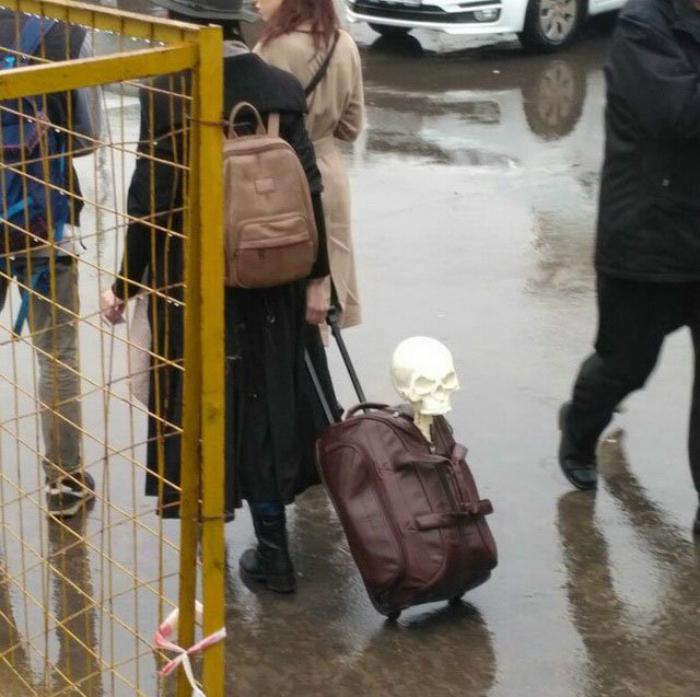 Скелет в чемодане.