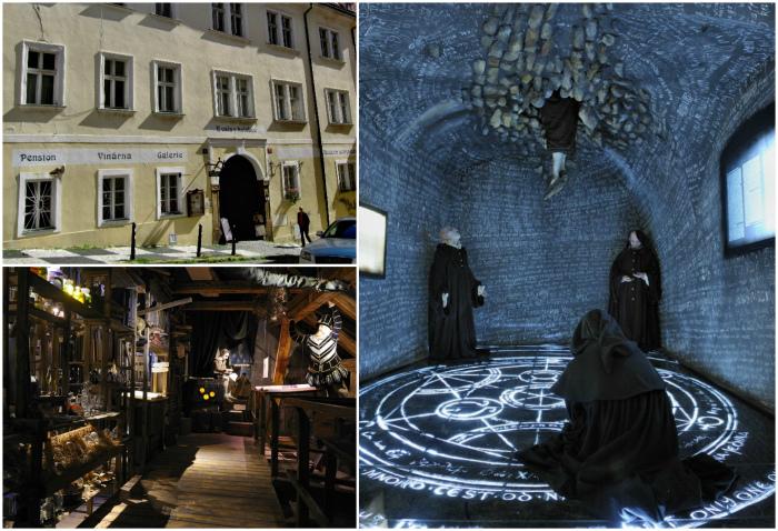 Музей магов и алхимиков в Праге.