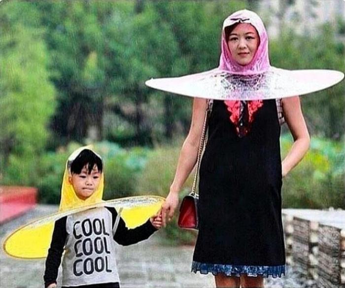 Зонты для ленивых.