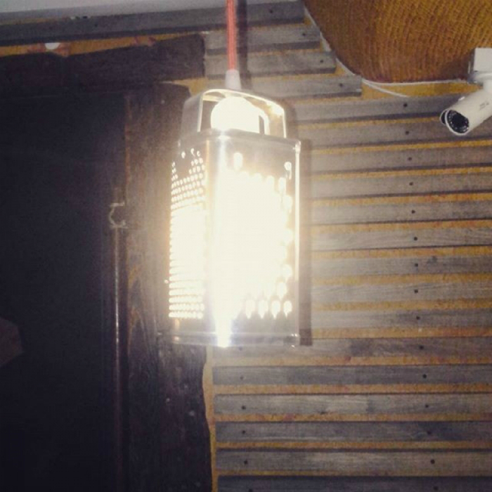 Стильный светильник.