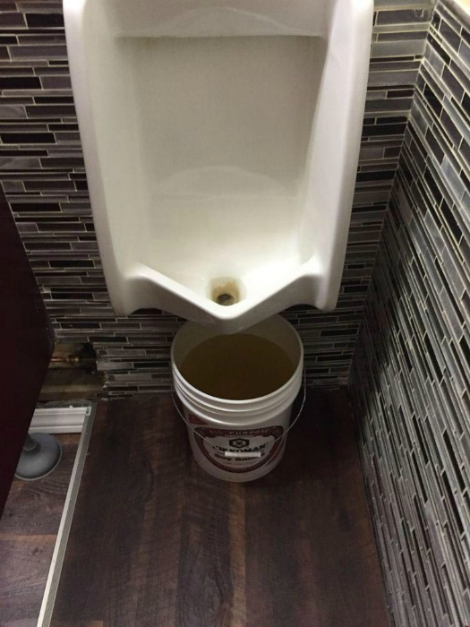 Уникальная канализация.
