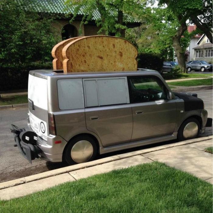 Тостер на колесах.