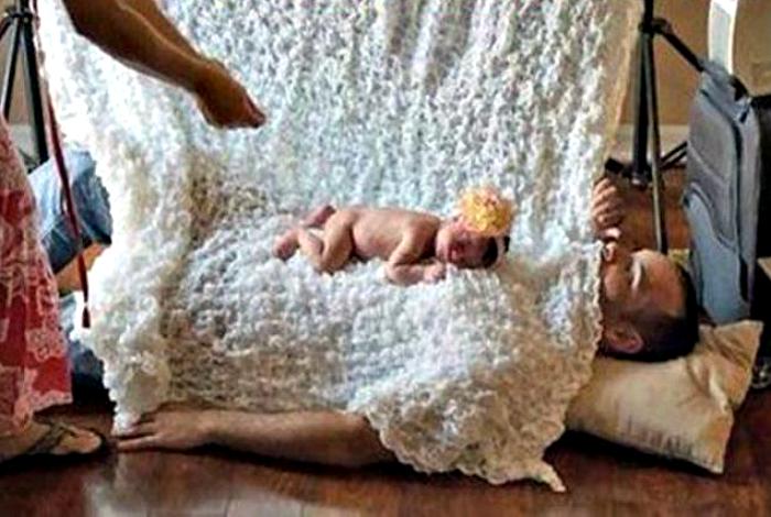 Фотосессия новорожденного.