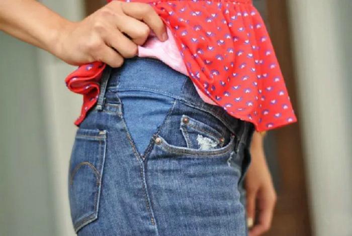Расширить пояс любимых джинсов. | Фото: Intisari Online - Grid.ID.