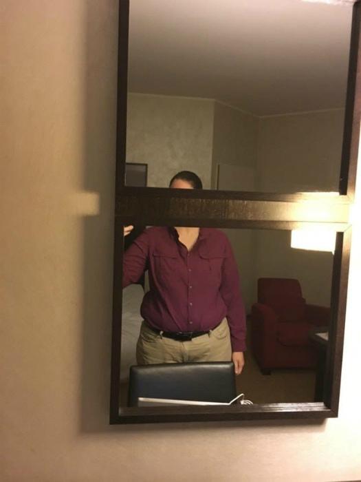 Коварное зеркало.