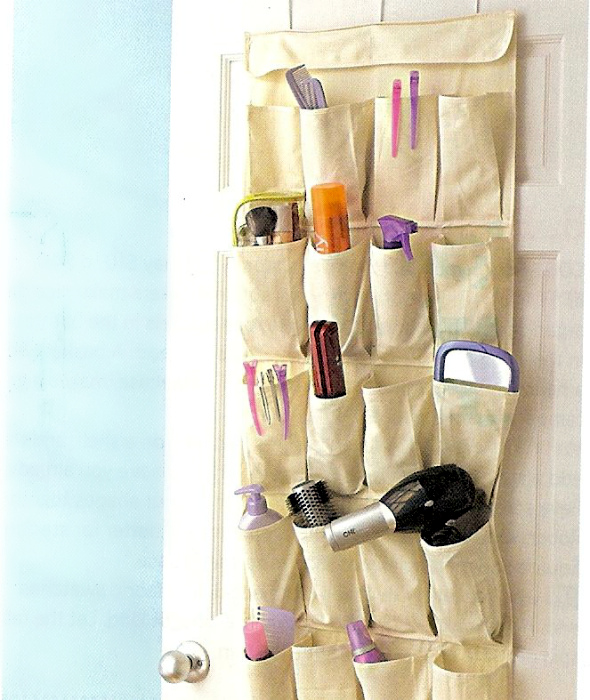 Хозяйственный органайзер из ткани. | Фото: Homergize.