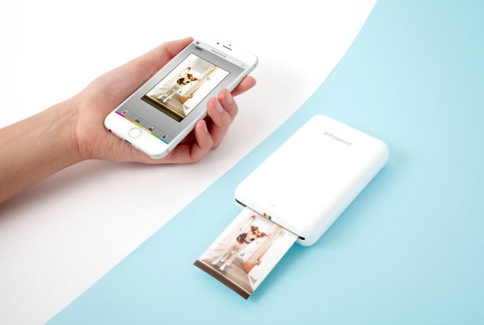 Компактный принтер, которые позволит мгновенно распечатать любимые снимки.