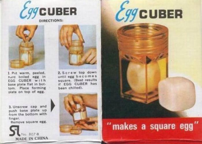 Устройство для придания яйцам другой формы.