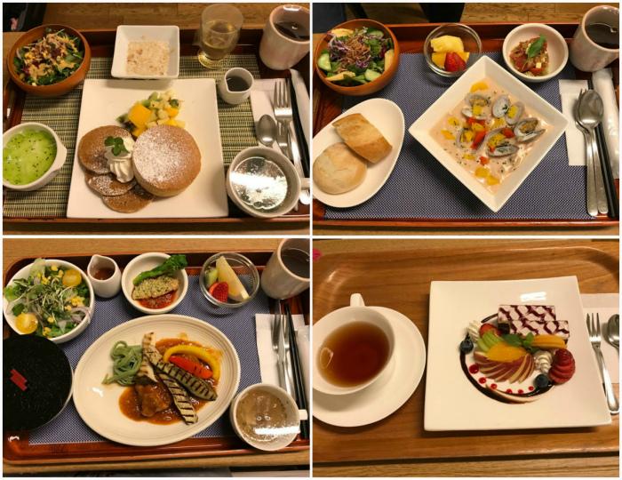 Питание в роддоме Японии.