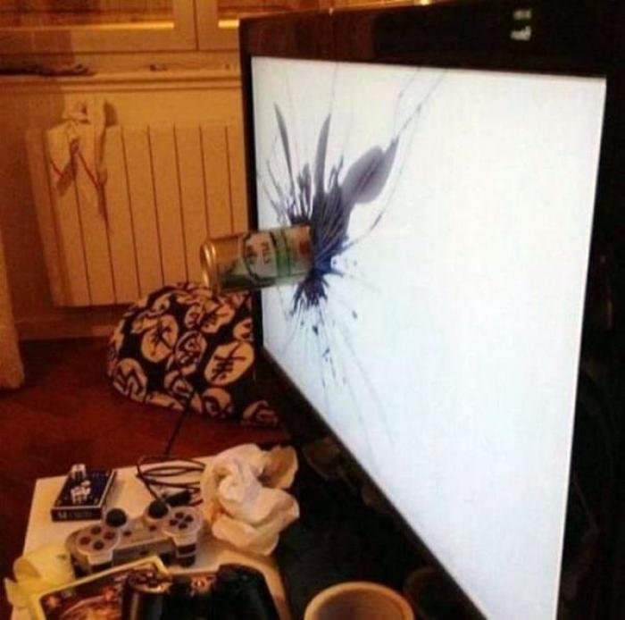 Прощай телевизор.