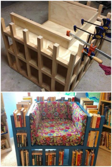 Кресло книголюба.