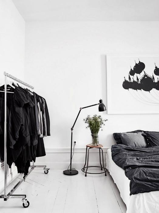 Белоснежная спальня.