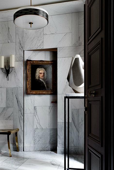 Потайная межкомнатная дверь.