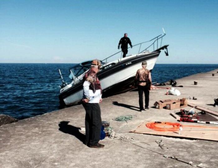 По мнению Novate.ru, этот парень знает, как эффектно пришвартоваться. | Фото: Joe Monster.org.
