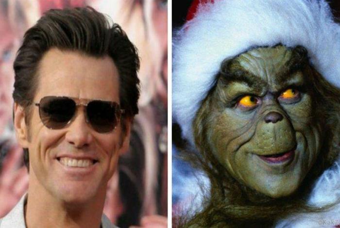 Джим Керри для фильма «Гринч - похититель Рождества».