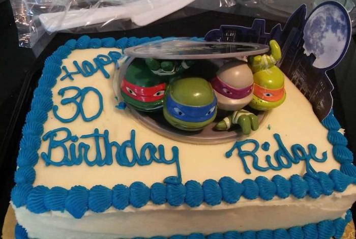 Тортик для 30-ти летнего сына.