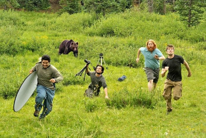 Один день из жизни фотографов. | Фото: Basler Zeitung.