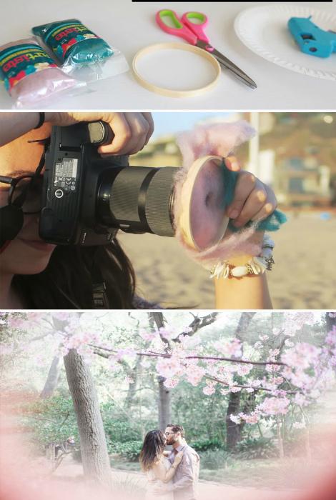 Романтичный розовый фильтр.