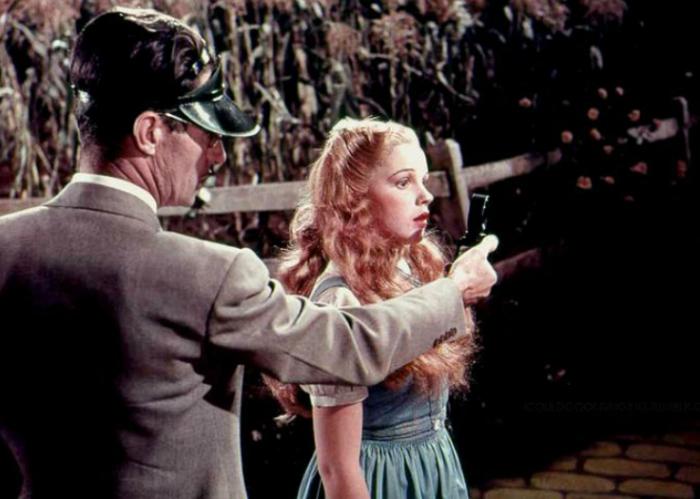 Джуди Гарлэнд на первых кинопробах для«Волшебника из страны Оз».
