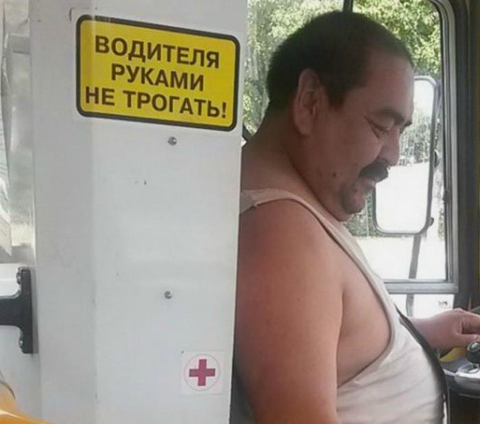 Водитель-недотрога.