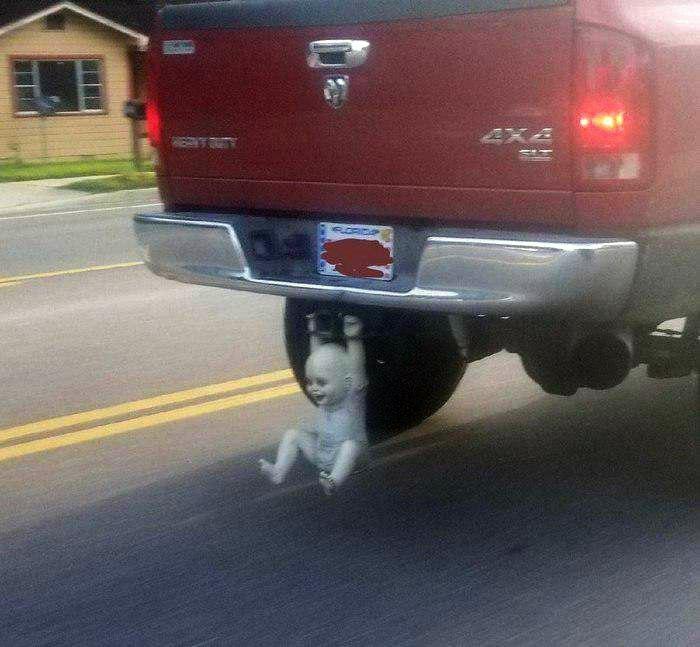 У владельца этого авто очень странный вкус! | Фото: Белок.Нет.