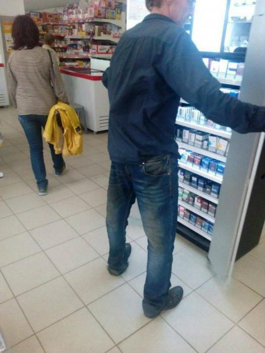 «А этот даже с джинсами не справился...» | Фото: Smiles TV.