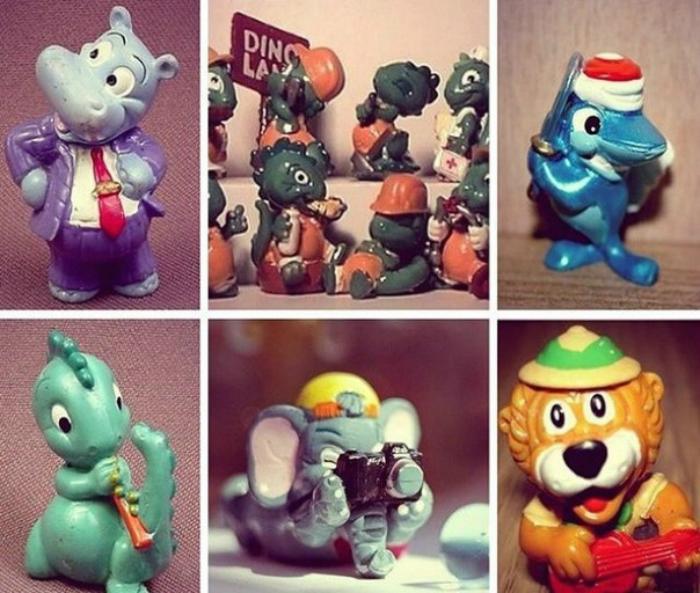 Абсолютно все дети, а иногда и взрослые коллекционировали игрушки из Kinder.