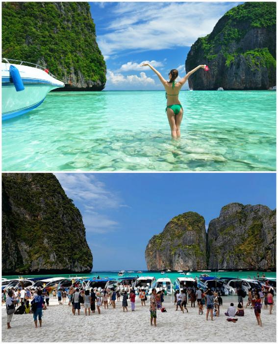 Пляж в Таиланде.