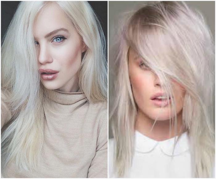 Холодный арктический блонд.
